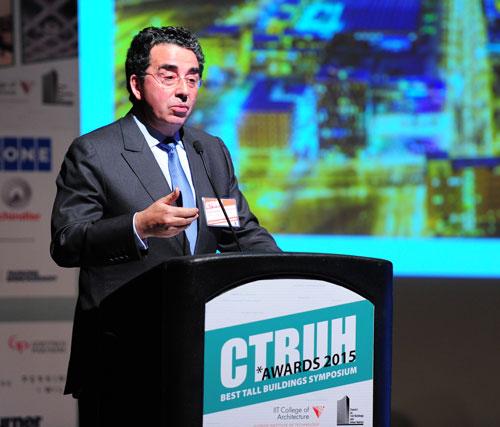 Santiago Calatrava, Santiago Calatrava Architects & Engineers, presents on the 10 Year Award Winner, Turning Torso