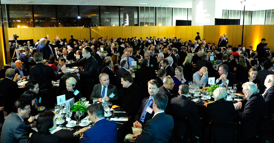 More than 300 guests attended the 15th Annual CTBUH Dinner and Ceremony in Mies van der Rohe's Crown Hall