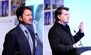 Alexander Durst, Chief Development Officer, The Durst Organization; Kai-Uwe Bergmann, Partner, Bjarke Ingels Group