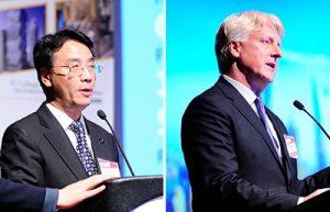 Jianping Gu, General Manager, Shanghai Tower C&D Grant Uhlir, Managing Director, Principal, Gensler